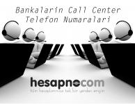 Bankaların Müşteri Hizmetleri Telefonları