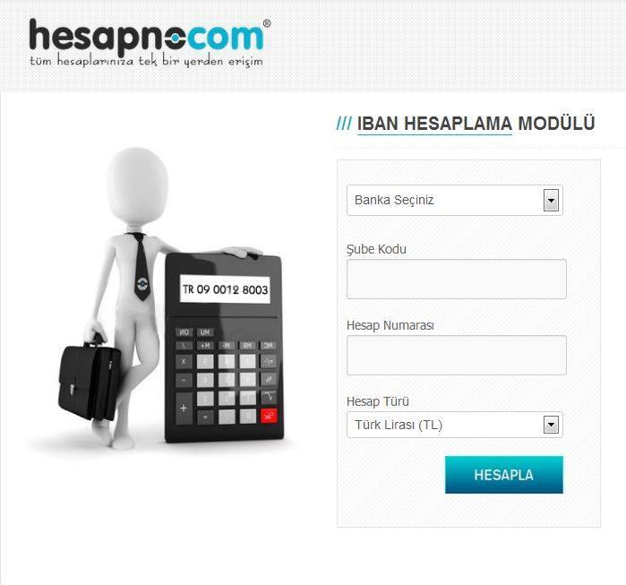 hesapno_iban_hesaplama_fonksiyonu
